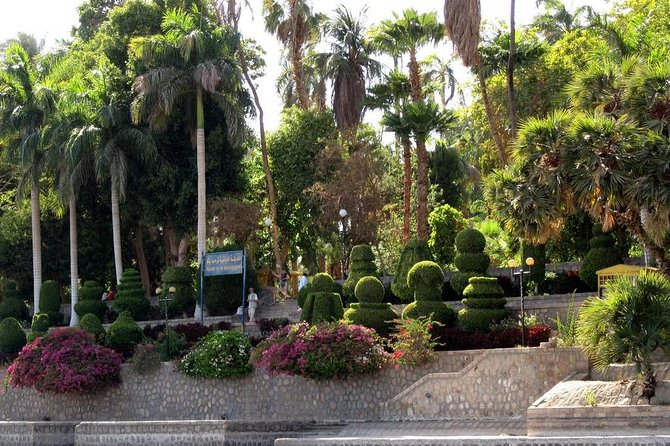 Botanic Gardens and Botanical museum excursion by felucca from Aswan