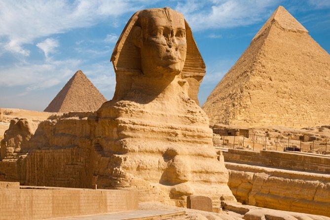 Cairo highlights day tour to Giza pyramids,Egyptian museum&kHAN Al Khalili