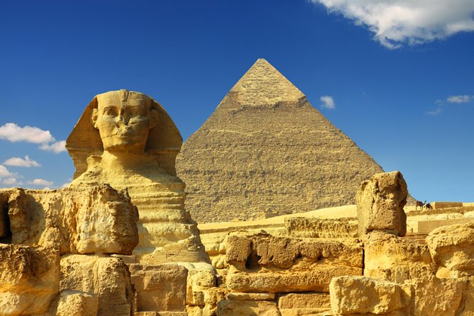 Cairo stopover tour to Giza pyramids,Sphinx
