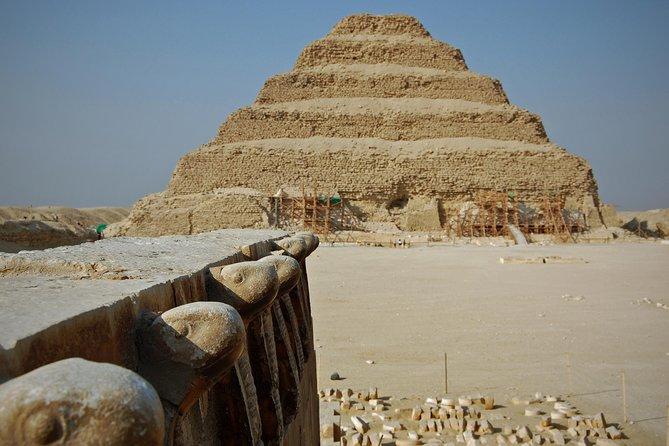 A full day tour to pyramids of Giza,Sakkara and Memphis