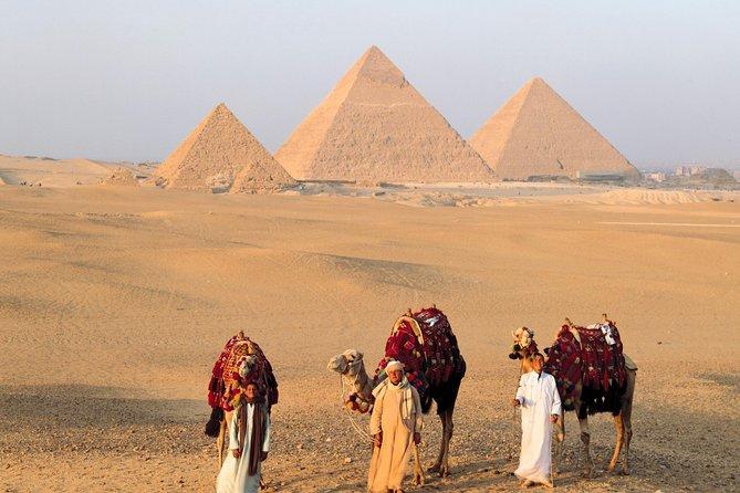 Two days trip to Giza pyramids,Sakkara Cairo main sites from Alexandria port