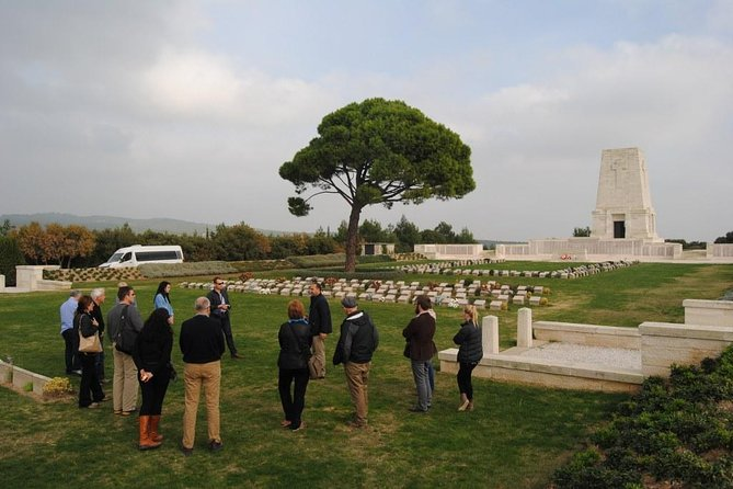 Tour Group at Lone Pine Cemetery