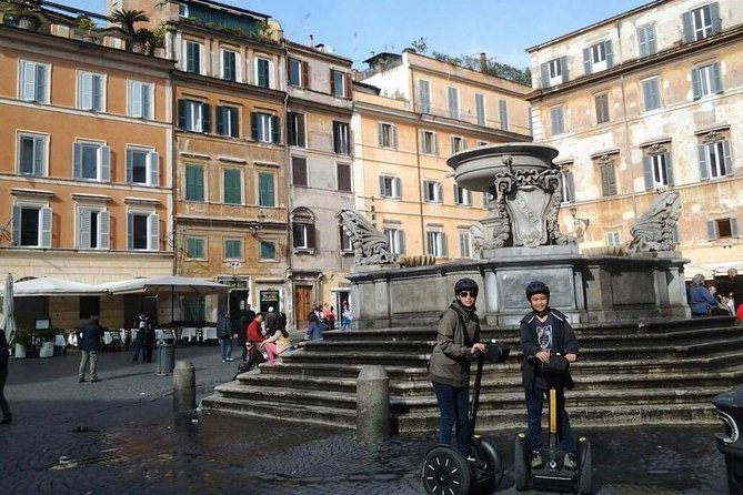 Rome Trastevere Segway Tour and Pizza Tasting