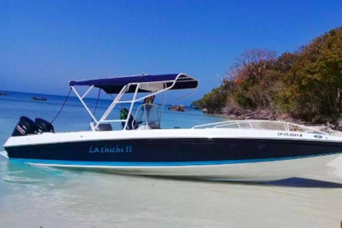 Adventure day aboard La Chichi II speedboat