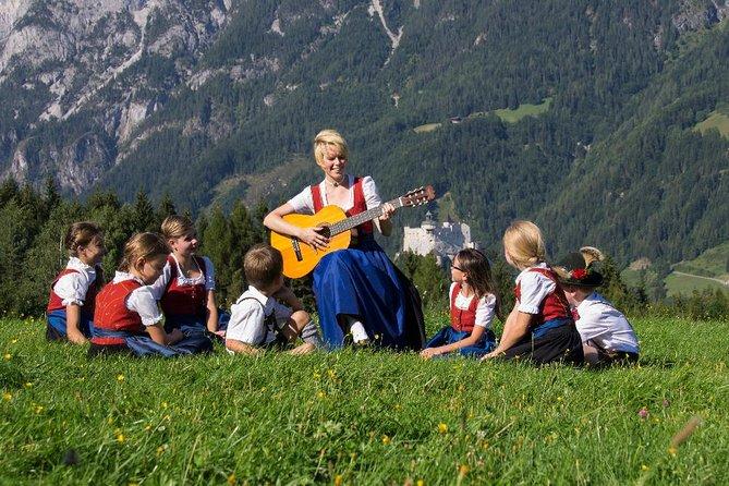 Sound of Music picnic scene in Werfen