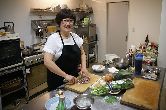Private Japanese Cooking Class with a Local Chef Kiwa in Tokyo