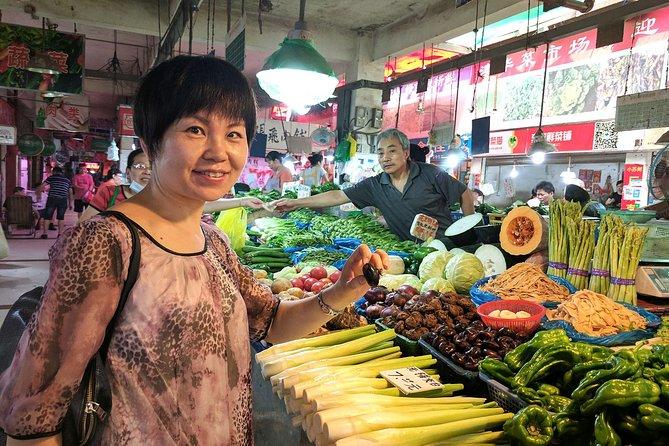 Autentisk Shanghai Experience: Marknadstur och Dumpling Class med en lokal