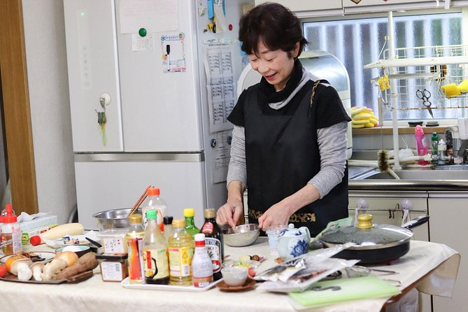 Heart-Warming Japanese In Home Cooking Lesson with a Local Mother in Osaka