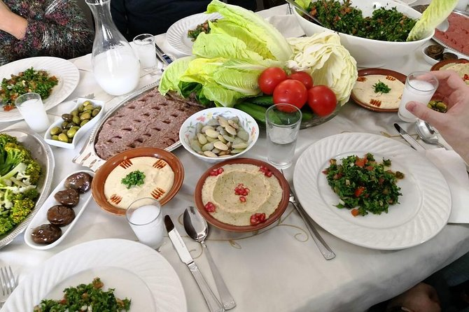 Authentic Lebanese Cooking Lesson and Meal with Tania's Family in Beirut