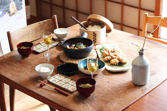 Private Japanese Cooking Class with a Local in a Beautiful Wooden House in Kyoto