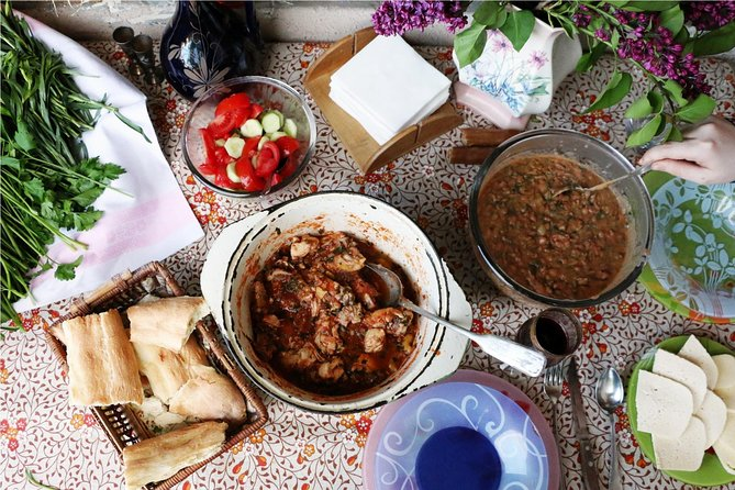 Enjoy a Traditional Georgian Cooking Class and Meal with a Local in Tbilisi