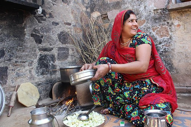 Local Farm and Village Visit with an Authentic Rajasthani Vegetarian Meal
