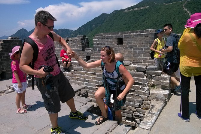 All Inclusive of Mutianyu and Badaling Great Wall Adventure Full Day Tour