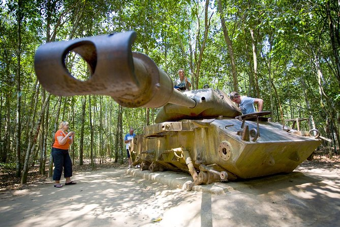 Cu Chi Tunnels Half Day Tour By Coach In The Morning