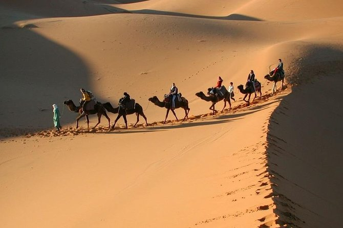 Marrakech to Fez Private 3-Day Desert Tour with Camel Trek 2021