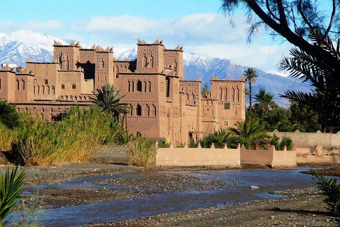 Excursão de 3 dias: Marraquexe para Merzouga pelo Vale Dadès e passeio de camelo em Erg Chebbi