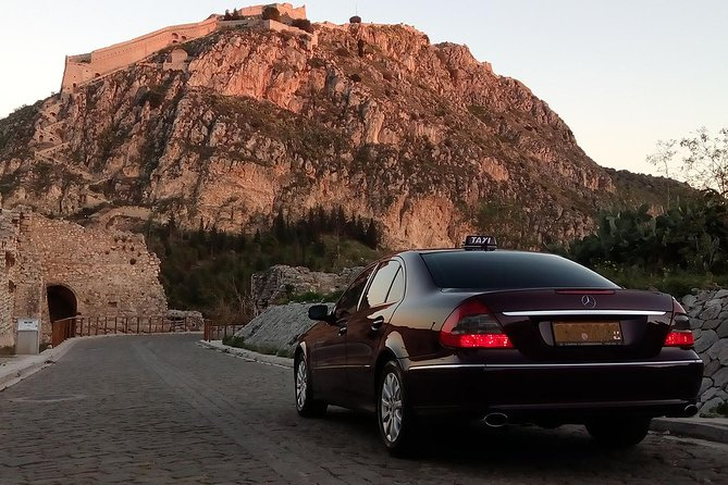 Private Transfer Athens International Airport to or from Nafplio