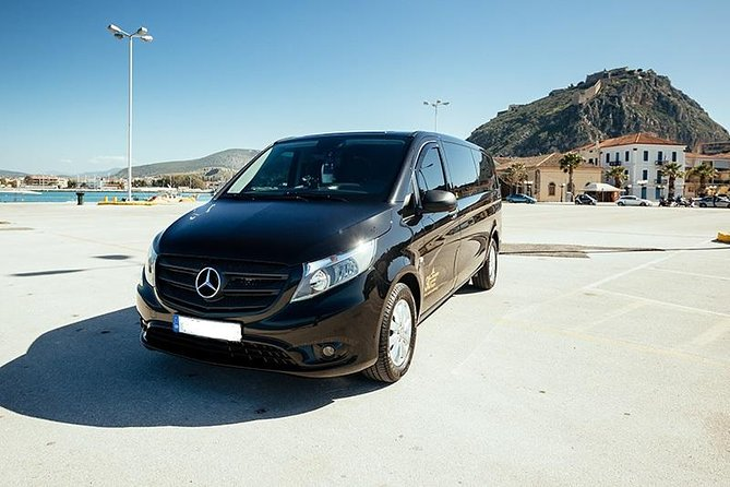 Minivan Private Transfer Athens Airport to or from Nafplio
