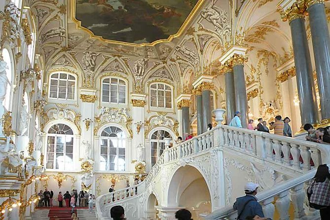 1 Day Best of St Petersburg City and Peterhof by Hydrofoil on Small Group Shore Excursion Tour