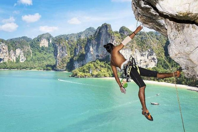 railay rock climbing tours krabi thailand