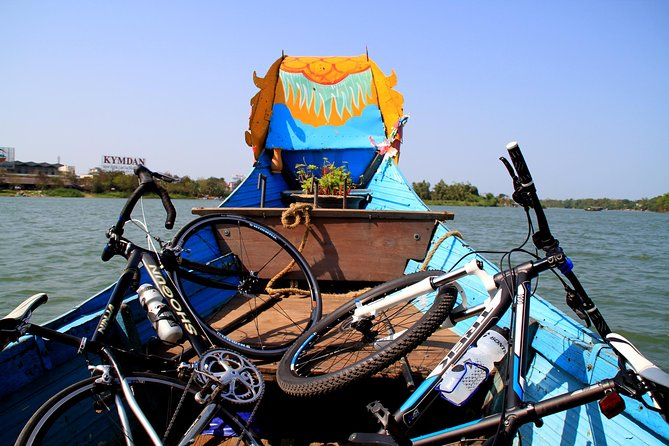 Full-Day Hue Cycling Tour Including Dragon Boat Ride