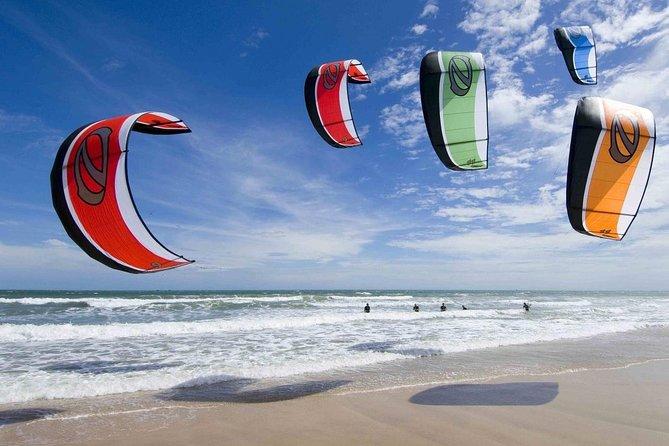 Clases privadas o en grupo de kiteboarding en Bahía Salinas