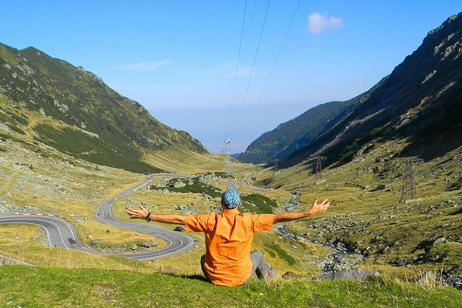 Hiking along Transfagarasan Scenic Road