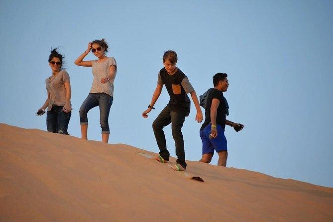 Abu Dhabi mañana desierto Safari