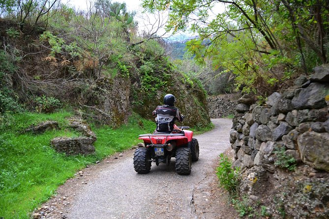 Tour of Mt Etna Off-Road with Quad Bike