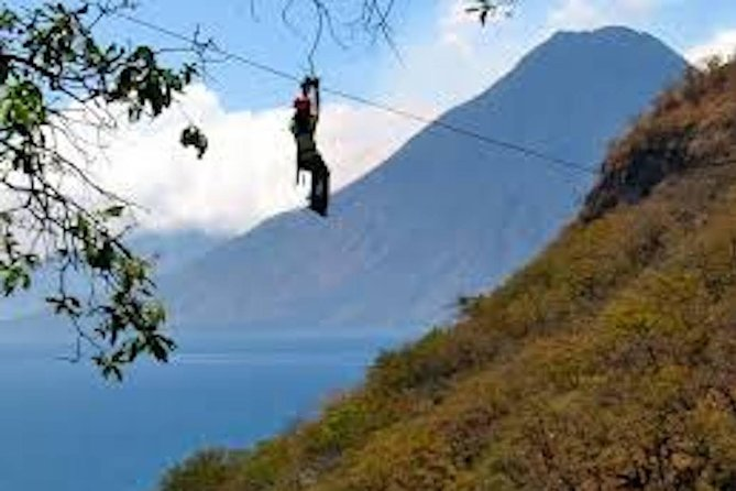 Stand Up Paddle Board or Kayak and Extreme Zipline Adventure from Panajachel