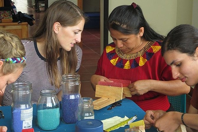 Beading Class and tour a Non-profit vocational training center a Fun cultural sharing experience
