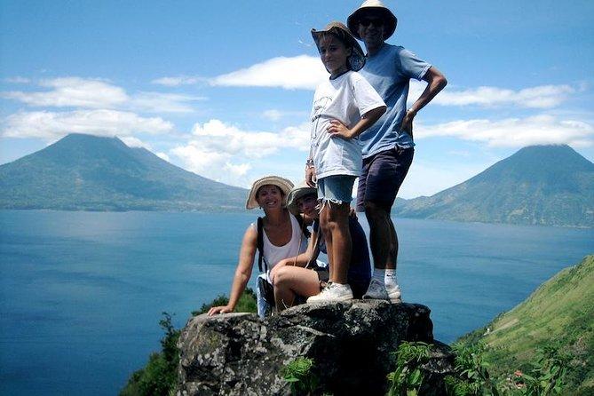 Lake Atitlan Lower Mayan Trail Hiking Tour from Panajachel
