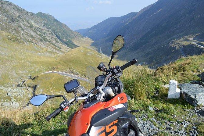 BMW F800GS motorbike hire Romania