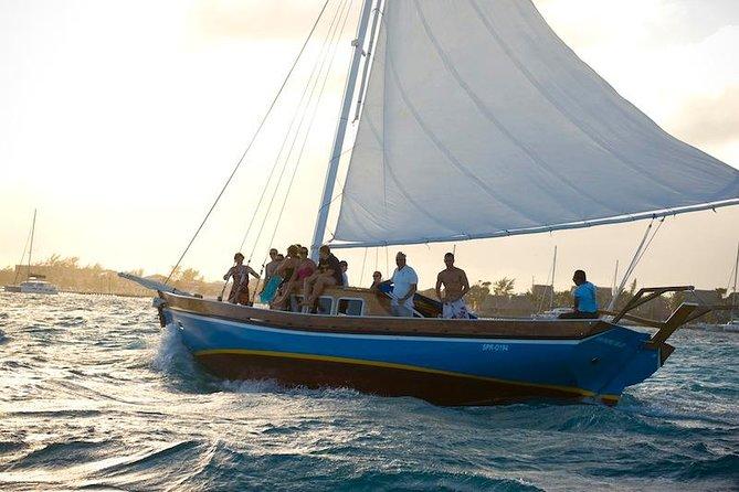 Ambergris Caye Sunset Sail Tour on the 40' Sirena Azul Sailboat
