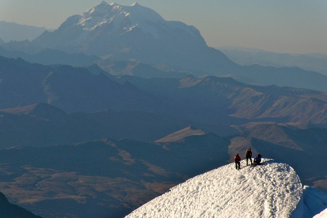 3-Day Climbing Huayna Potosi from La Paz