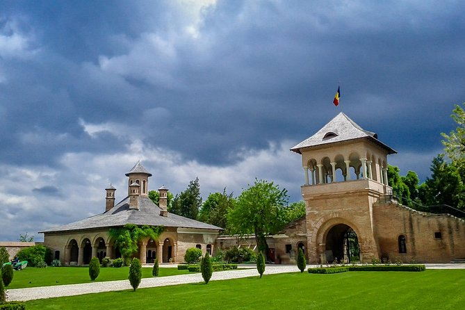 Small Group Tour to Mogosoaia Palace Snagov and Caldarusani Monasteries from Bucharest