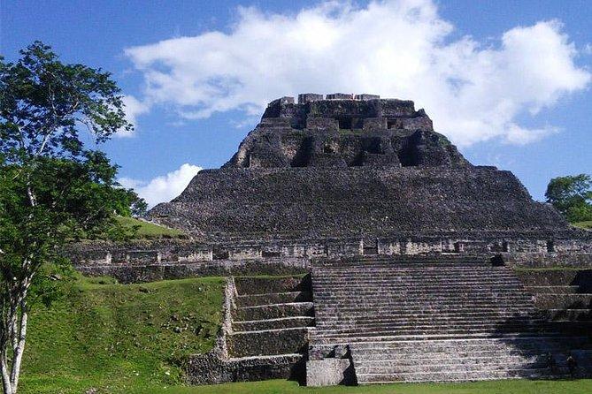Xunantunich Maya Temple and Big Rock Falls combo
