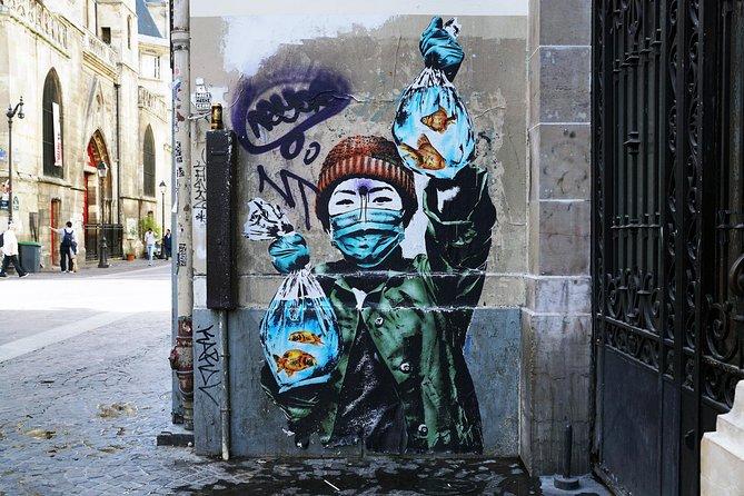 Excursion privée Art de la rue dans le Marais