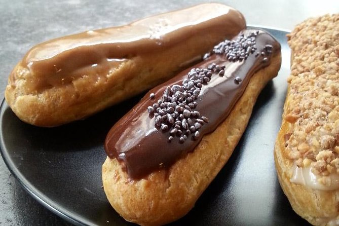Paris French Eclair and Choux Pastry Dessert Class