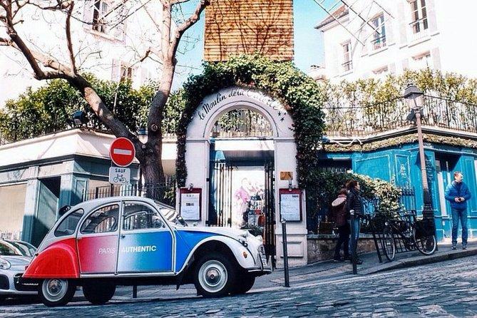 Paris Classic tour in 2CV
