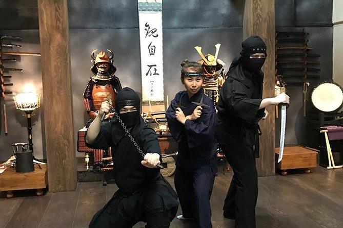 90-Min. Elite Ninja Experience : Ninja Star, Sword. Blowgun, Stealth Practice