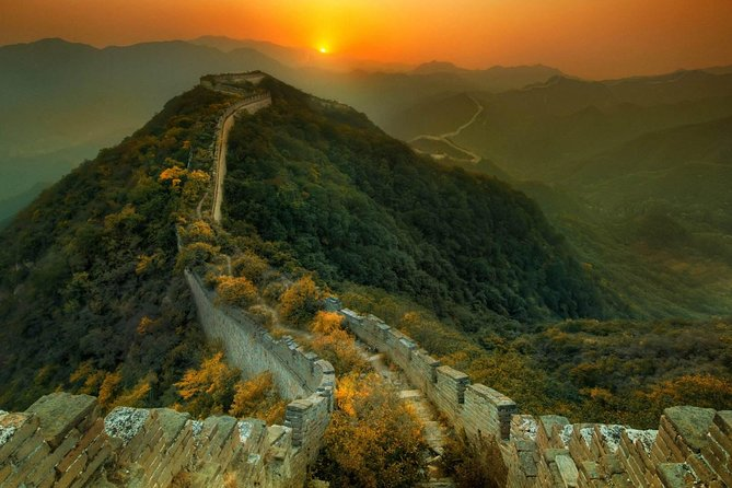 Private Beijing Day Trip Including Mutianyu Great Wall And Jingshan park
