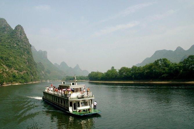 Excursão de cruzeiro pelo grupo Li River de Guilin a Yangshuo