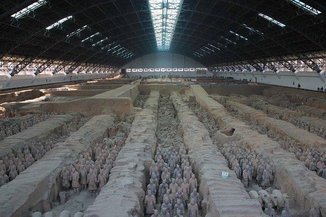 Tour por el Grupo Xi'an: Guerreros de las dinastías Qin y Han con espectáculo vespertino