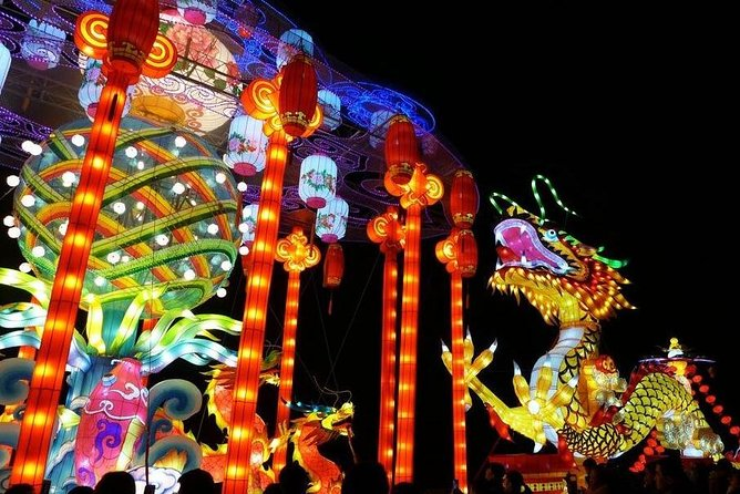 Lunar New Year Celebration: Chinese Lantern Festival on Xi'an City Wall