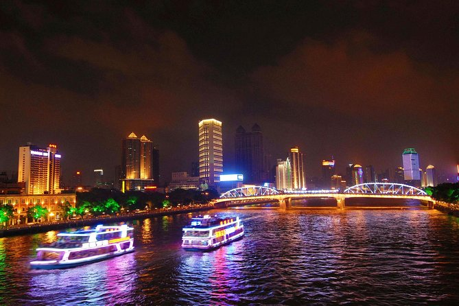 Guangzhou Pearl River Night Cruise Tour