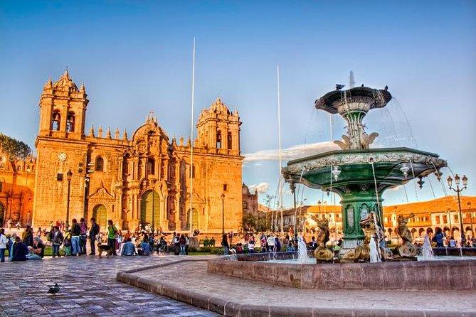 Kleine groep Cusco City Tour en 04 nabijgelegen ruïnes