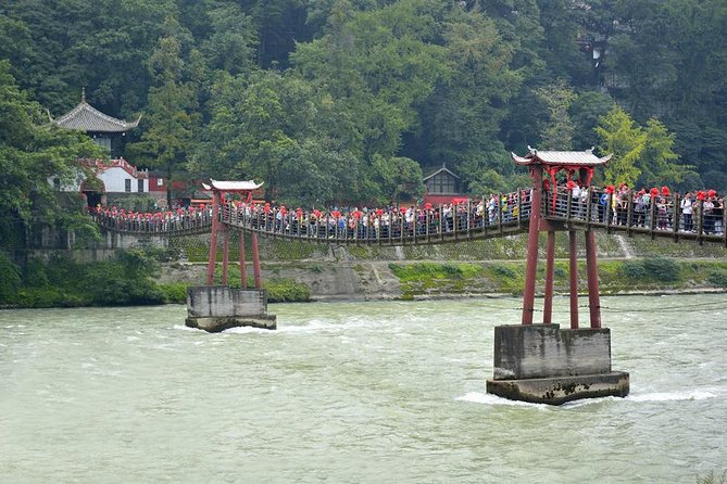All-Inclusive Private Day Tour av verdensarvsteder: Mount Qingcheng og Dujiangyan