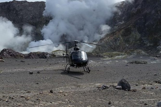 White Island Volcano Helicopter Flight and Crater Tour from Tauranga