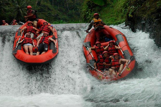 White Water Rafting at Telaga Waja River